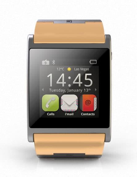 telefony tablety a teraz zegarek na trwających w las vegas targach