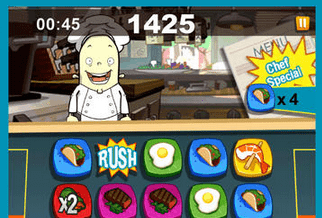 Photo of Order Up!! Fast Food – ,,match 3″ w kulinarnej wersji od Chillingo