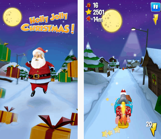 Photo of Running With Santa – świąteczny runner na iOS i Androida