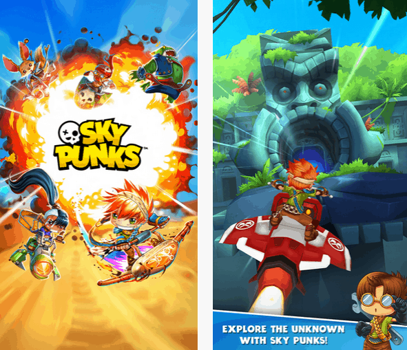 Photo of Sky Punks – nowy runner od twórców Angry Birds