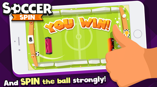 Soccer Spin 2D on the App Store