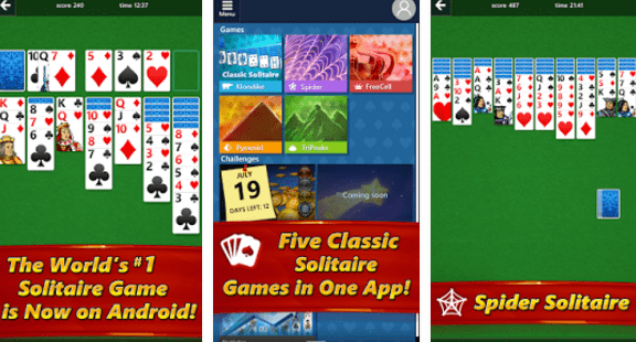 Microsoft Solitaire Collection - transfer gier garcianych z PC na smartfony