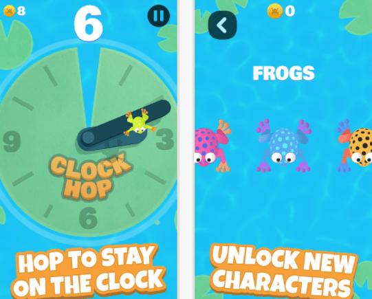 Photo of Clock Hop – żabi skok przez wskazówki zegara